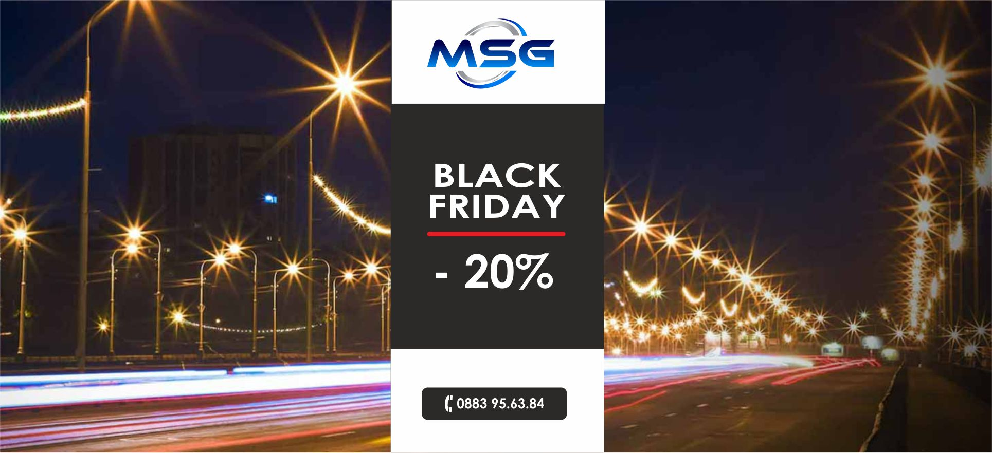 Black Friday Sconto 20%